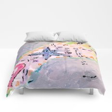 summer footprint Comforters