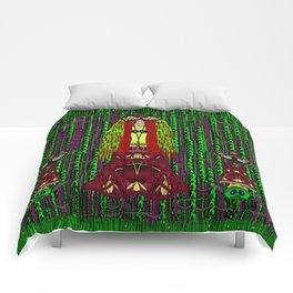 Lady Frida Kahlo arrived to the fantasy forest Comforters
