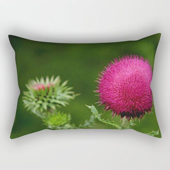 Prickly beauty Rectangular Pillow