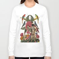 planet Long Sleeve T-shirts featuring PLANET by MANDIATO ART & T-SHIRTS