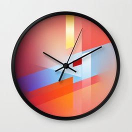 Potential Energy II Wall Clock