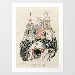 Head sanctuary Art Print