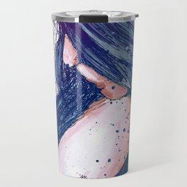 Prayers For Rain: Blue Travel Mug