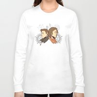 winchester Long Sleeve T-shirts featuring Winchester Bros by PotatoCrisp