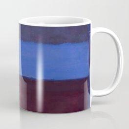 No.61 Rust and Blue 1953 by Mark Rothko Coffee Mug