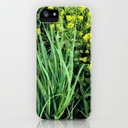 Beautiful Weeds iPhone Case