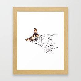 Josie B Framed Art Print