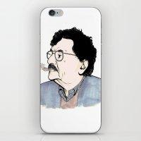 kurt rahn iPhone & iPod Skins featuring Kurt by JT Illustrates