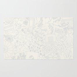 DC NYC London - Cream Rug
