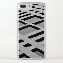 Trapeze Clear iPhone Case
