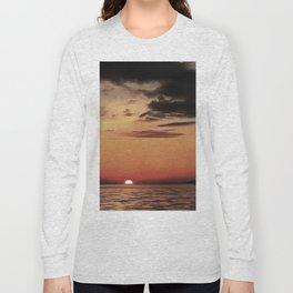 Autumn Evening Sundowner Long Sleeve T-shirt