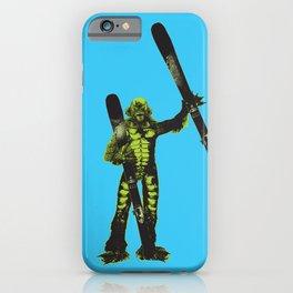 Ski Monster iPhone Case