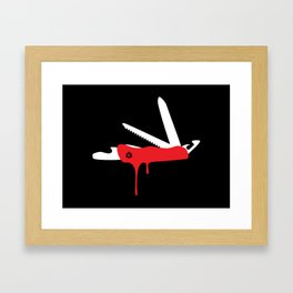 JackKnife Framed Art Print