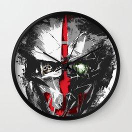 Death Staring Back Wall Clock