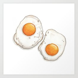 Breakfast & Brunch: Eggs Art Print