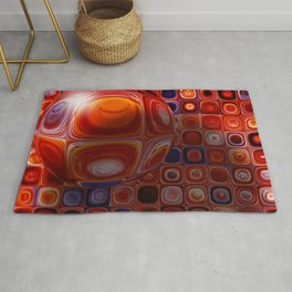 Tiles and Bubble-ations Rug
