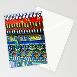Chinese Building Design Stationery Cards