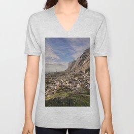 High Water At Head Ledge Unisex V-Neck
