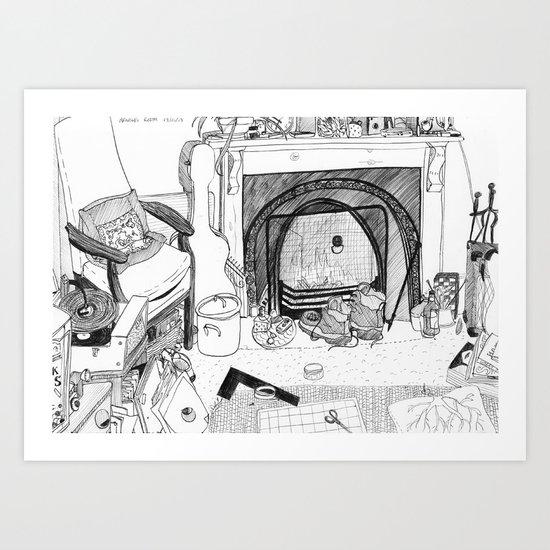 William's room. Art Print