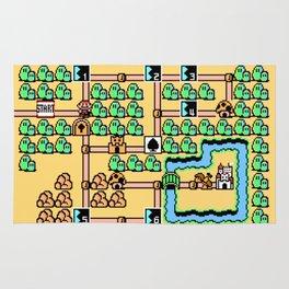 Super Mario Bros 3 World 1 Rug