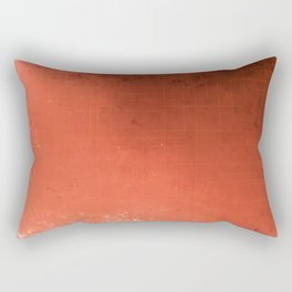 Ruby red with micro gold. Rectangular Pillow
