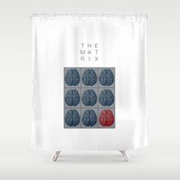 The Matrix Shower Curtain