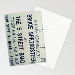 Bruce Springsteen & the E Street Band: Rain or Shine Stationery Cards