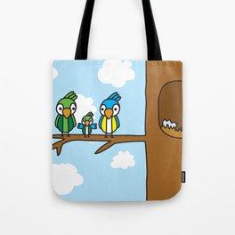 Proud Parrot Tote Bag