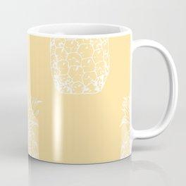 Petite Pineapple yellow Coffee Mug