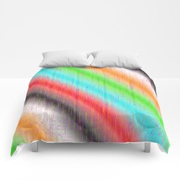 Colour lines and strokes Comforters