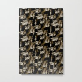 African motif Metal Print