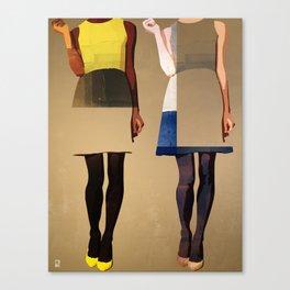 Super Models Canvas Print