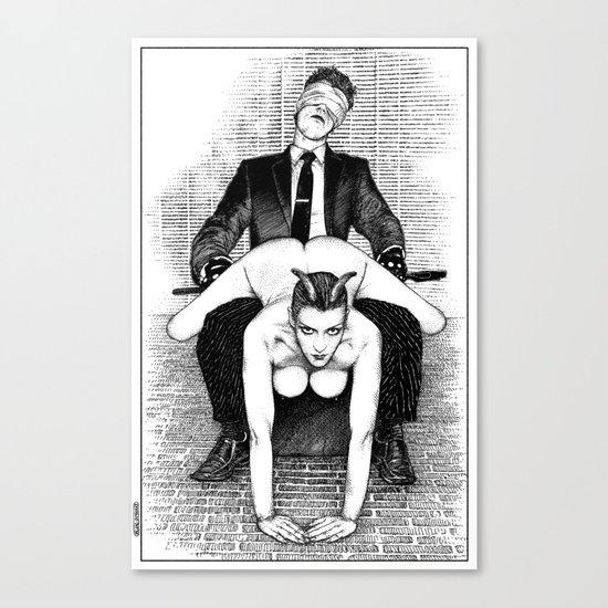 asc 642 - L'après-midi d'un faune (The perfomers III) Canvas Print