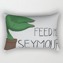 FEED ME SEYMOUR Rectangular Pillow
