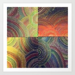 Sunrise and Sunset Art Print