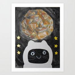 Meteor Krit Art Print