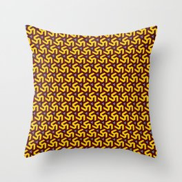 Golden Freeman Armor Throw Pillow