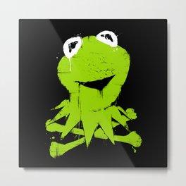 Pochoir - Kermit Metal Print