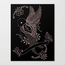 L'hirondelle Canvas Print