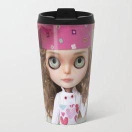 CUPCAKES BLYTHE DOLL BY ERREGIRO Travel Mug