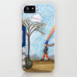 Happy Little House iPhone Case