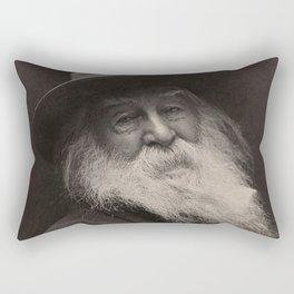 Walt Whitman Rectangular Pillow