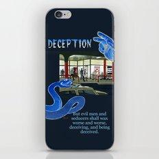 Deception iPhone & iPod Skin
