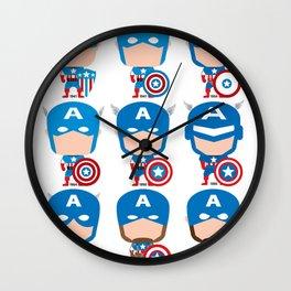 CAPTAIN EVOLUTION Wall Clock