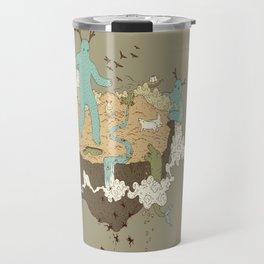 Frog Rain Travel Mug