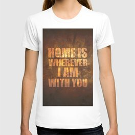 Home Is: Typography T-shirt
