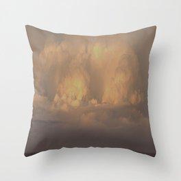 Mediterranean Storm Throw Pillow