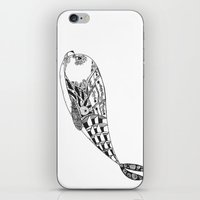 seal iPhone & iPod Skins featuring Seal by ATELOPHILIA DESIGNS