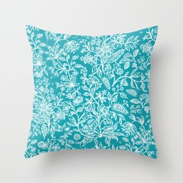 Decorative flowers 29 Throw Pillow