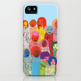 All the People iPhone Case
